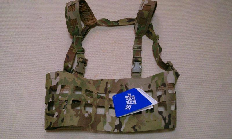 BLUE FORCE GEARラックマイナスチェストリグ1