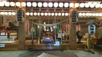 真岡市大前神社神殿