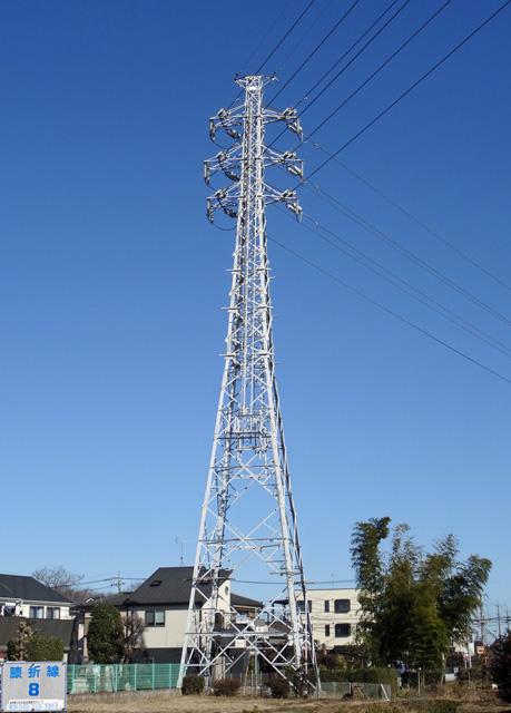 膝折線8号鉄塔