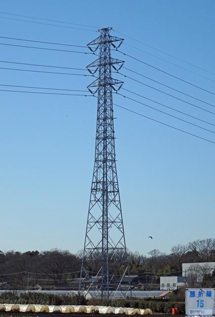 膝折線15号鉄塔