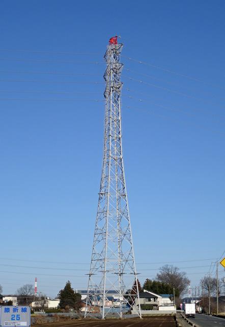 膝折線25号鉄塔