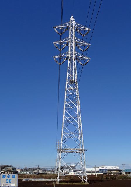 膝折線30号鉄塔