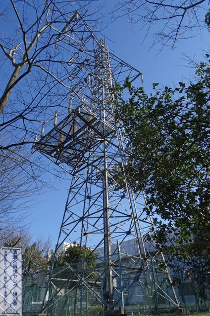 清瀬水再生センター線2号鉄塔