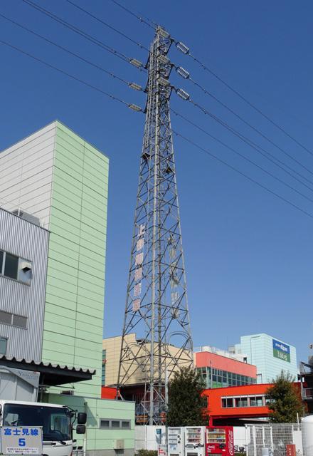 富士見線5号鉄塔