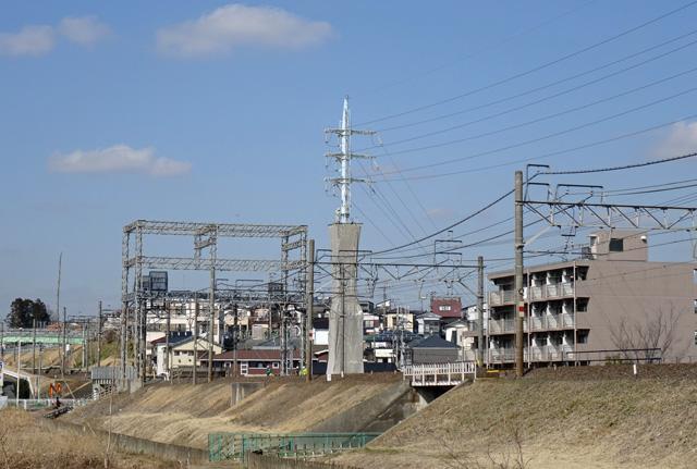 東武柳瀬川線3号鉄塔