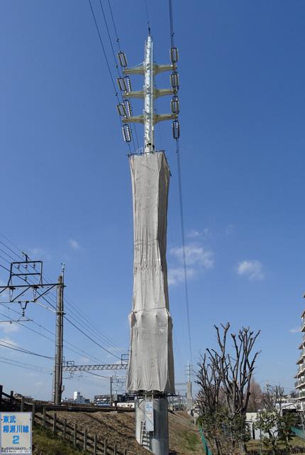 東武柳瀬川線2号鉄塔