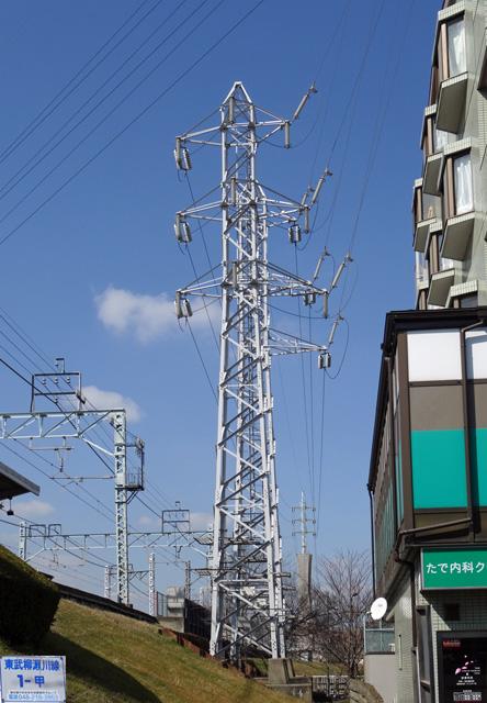 東武柳瀬川線1号鉄塔