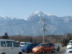 Jマートから北岳