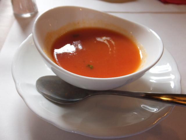 トマトと人参のスープ