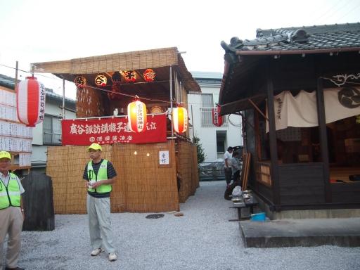 20150822・広谷諏訪神社の祭り・地口行灯20
