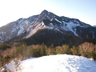 s02塩見岳への尾根2