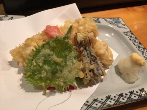 はしもと きくわたの天ぷら1