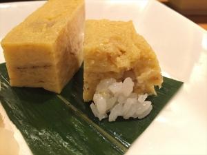 はしもと 自家製たまご焼き寿司 断面