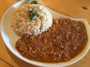 マタタビcafe 玄米ドライカレー1
