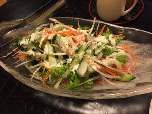 芸竹 サラダ