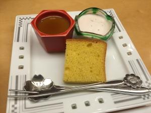 れんげ草 デザート