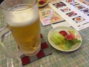 花餃子3 ビール