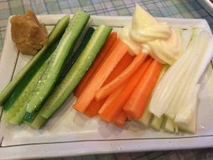 花餃子3 野菜スティック