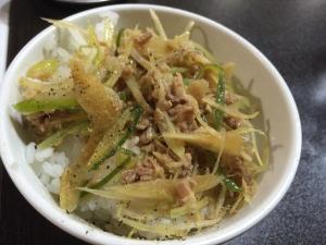 あるますーぷ チャーシュー小丼2