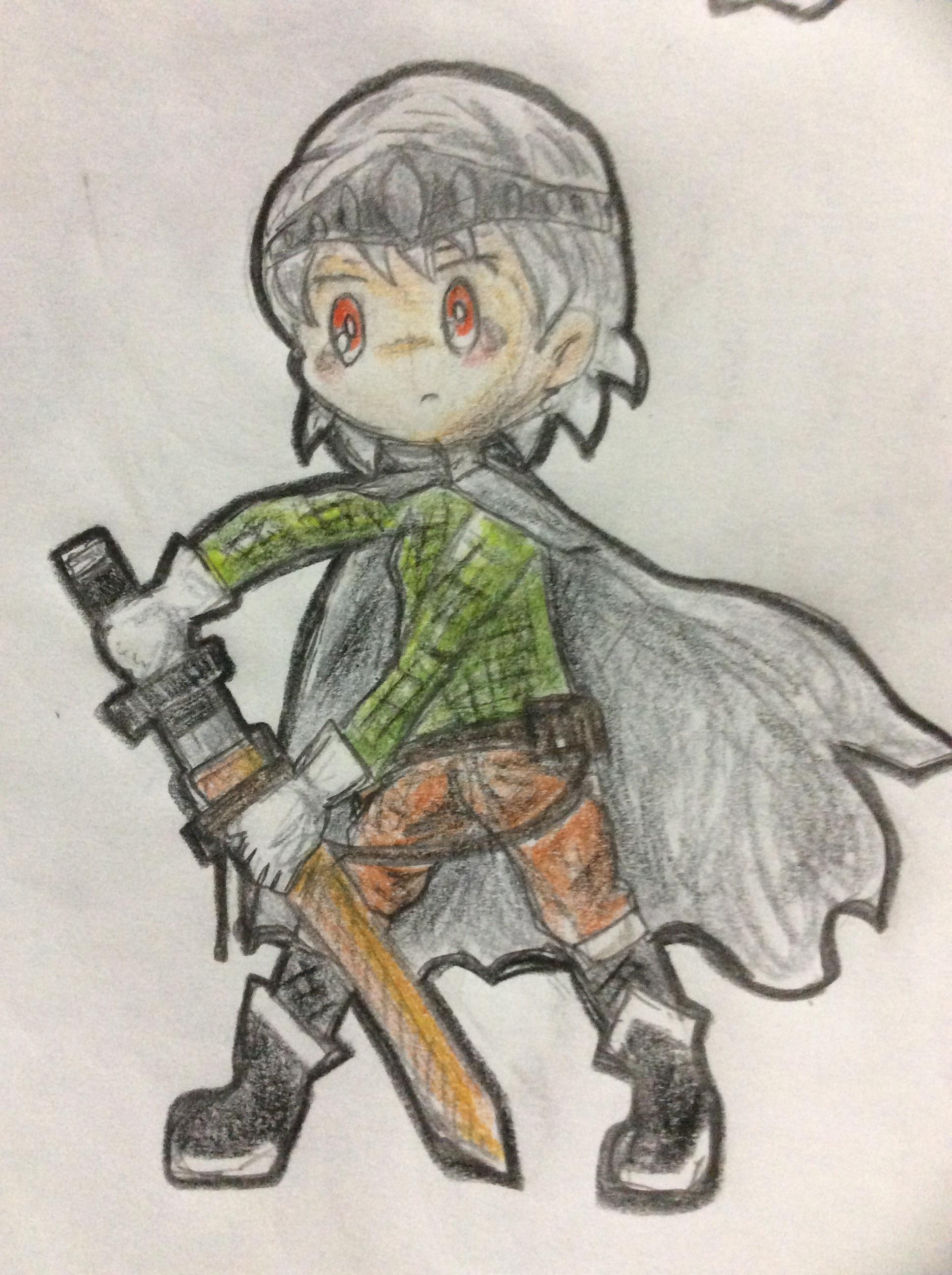 魔王を守る、銀の剣