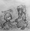 戦災孤児に手を差し伸べる
