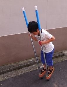 5歳のたけうま練習