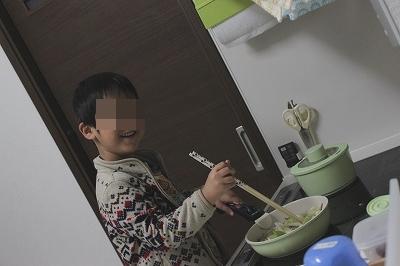 子供の料理