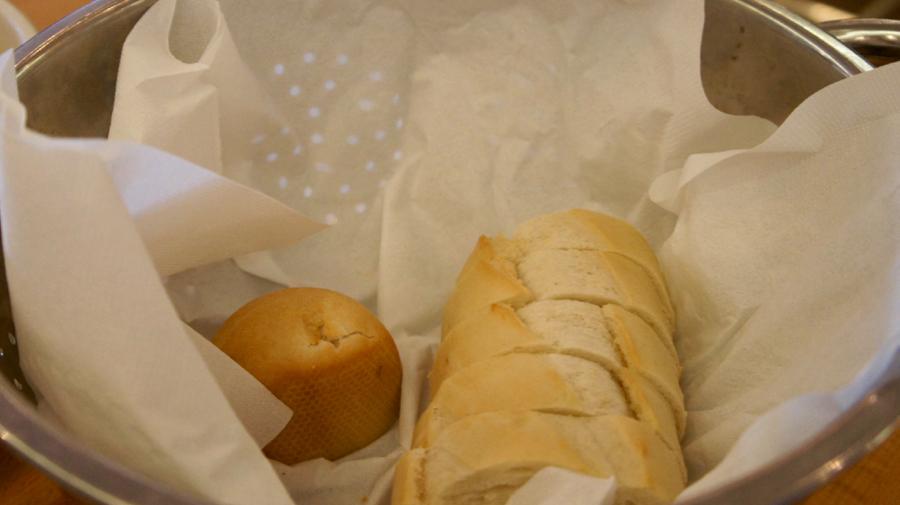 パンが付いてくる