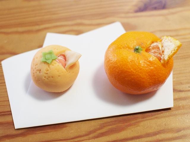 みかんと和菓子4