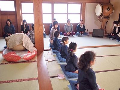 400150317 坐禅体験と保護者の坐禅体験3