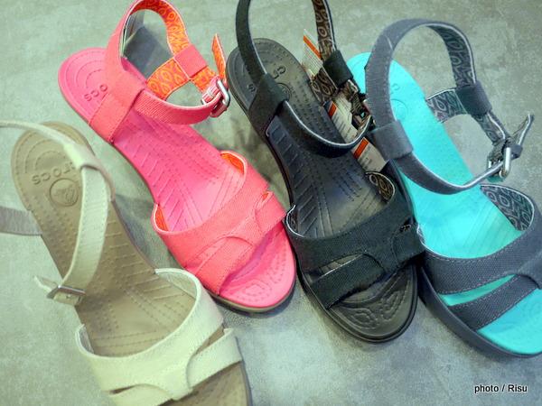 クロックス春夏ヒール&ウェッジ「eigh sandal wedge w」