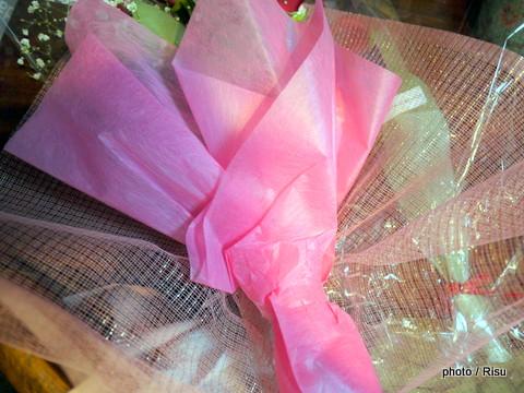 日比谷花壇 薔薇のフラワーブーケ