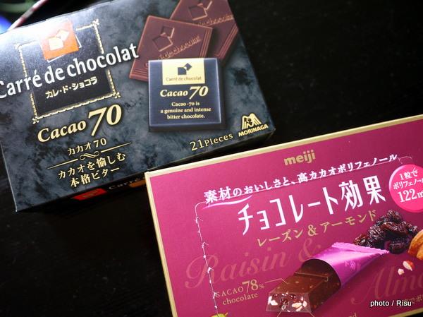 高ポリフェノールチョコレート