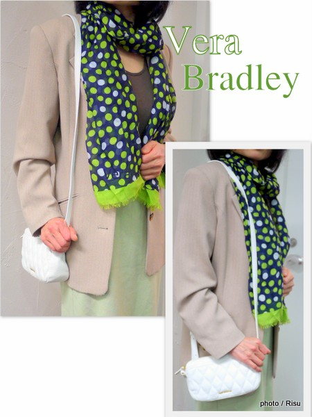 ヴェラ・ブラッドリー2015春夏スカーフ&バッグ