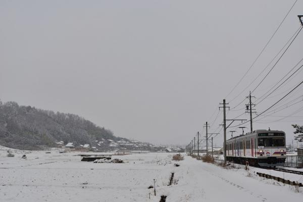 2015年2月15日 上田電鉄別所線 八木沢~別所温泉 1000系1002編成
