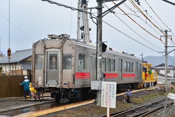 2015年3月1日 上田電鉄別所線 中塩田 6000系6001号車