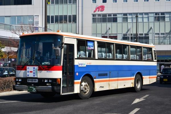 2015年3月2日 上田バス菅平高原線 上田駅 N-907号車