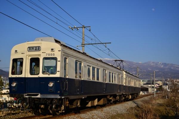 2015年3月2日 上田電鉄別所線 三好町~赤坂上 7200系7255編成