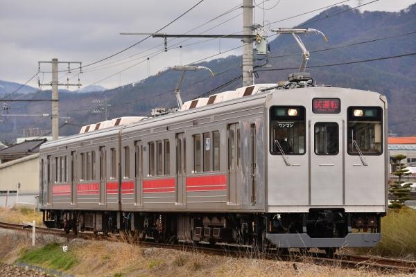 2015年3月9日 上田電鉄別所線 赤坂上~三好町 6000系6001編成