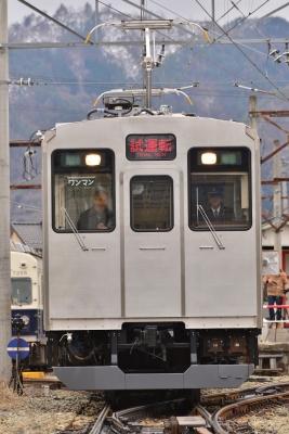 2015年3月9日 上田電鉄別所線 下之郷 6000系6001編成