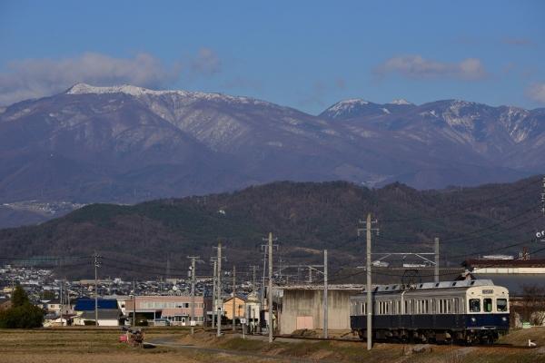 2015年3月23日 上田電鉄別所線 八木沢~別所温泉 7200系7255編成