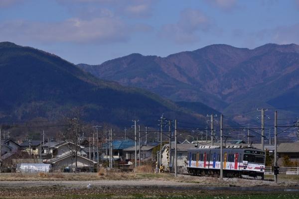 2015年3月25日 上田電鉄別所線 中塩田~下之郷 1000系1002編成