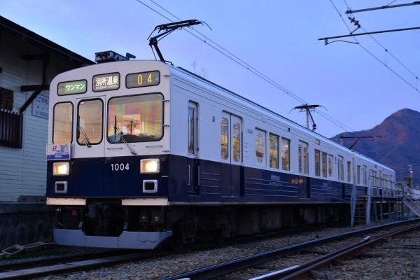 2015年3月28日 上田電鉄別所線 下之郷 1000系1004編成