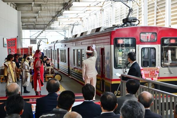 2015年3月28日 上田電鉄別所線 上田 6000系6001編成