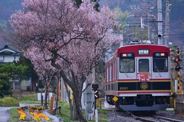 2015年4月5日 上田電鉄別所線 八木沢 6000系6001編成
