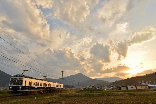 2015年4月22日 上田電鉄別所線 八木沢~舞田 1000系1004編成