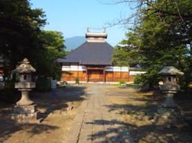 長野県長野市松代町にある寺院。真田山とも呼んでる