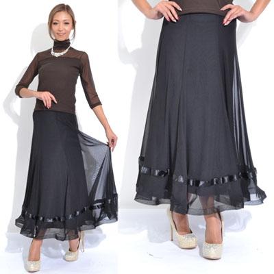裾ホースヘアスカート