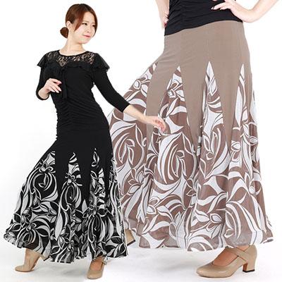 マーブル切り替えスカート