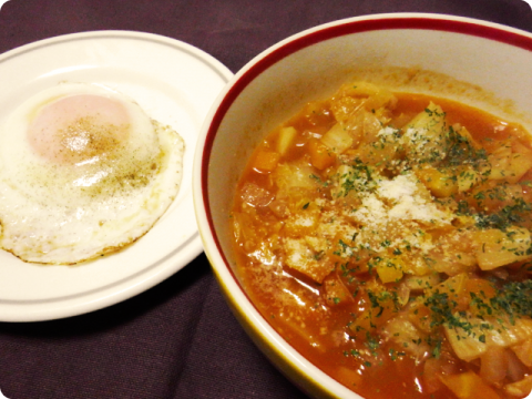 濃厚野菜スープ